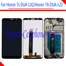 New Full LCD DIsplay + Touch Screen Digitizer Assembly With Frame For Huawei Honor 7S DUA LX2 / Honor 7A ( 5.45 inch ) DUA L22