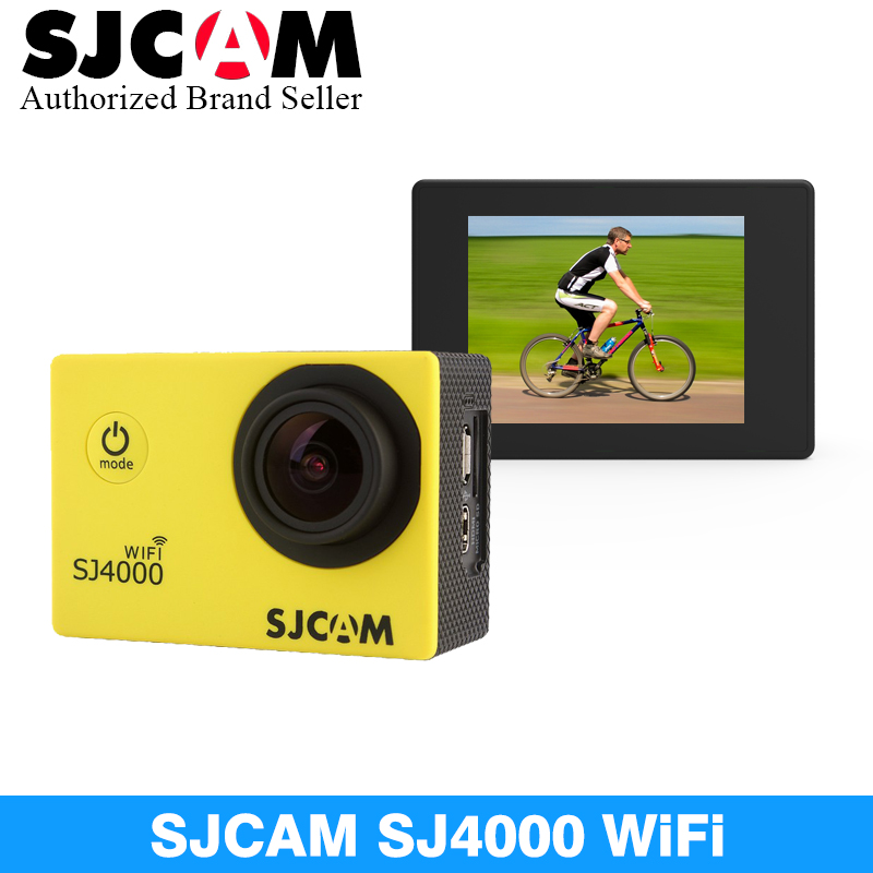 Original SJCAM SJ4000 WiFi Sport Action Camera 2.0 inch 1080P HD Waterproof Camcorder Underwater sj cam SJ 4000 mini Sports DV 2017 arrival original eken action camera h9 h9r 4k sport camera with remote hd wifi 1080p 30fps go waterproof pro actoin cam