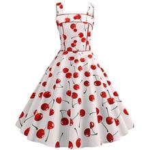 Vintage stitching sling slim fit skater summer dress dresses for women casual sundresses