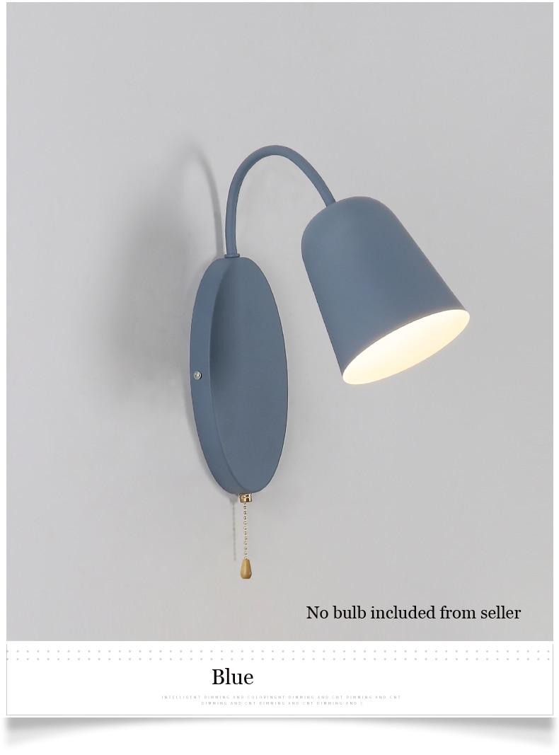 Luzes de braço curvo simples e moderno