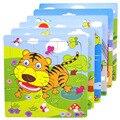 1 unids animales forma juguetes rompecabezas de madera para niños juguetes educativos juguetes de madera para niños rompecabezas de madera de juguete TY75 automática