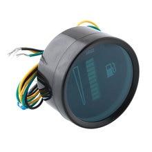 Universal Car Motor 2″ 52mm Fuel Meter LED Digital Display 12V System Fuel Gauge