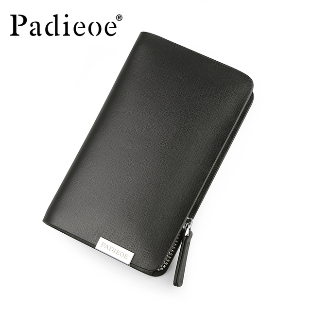 Padieoe Brand Split Cow Leather Purse Unisex Housekeeper Designer Brand Men's Key Bag High Quality Key Wallet Key Holder For Car
