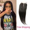 Queen Hair Closure Straight Silk Base Peruvian Straight Closure Bleached Knots 8A Virgin Peruvian Human Hair Straight Closure