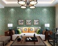 Beibehang Vintage Papel Tapiz Bordado Imitación Del Sudeste Asiático Elefante Auspicioso fondo salón Dormitorio del papel pintado 3d