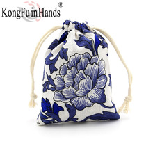 Hot Sale Fashion jewelry bag vintage Display packaging linen bags necklace bracelet Ring earring Christmas gift bag freeshipping