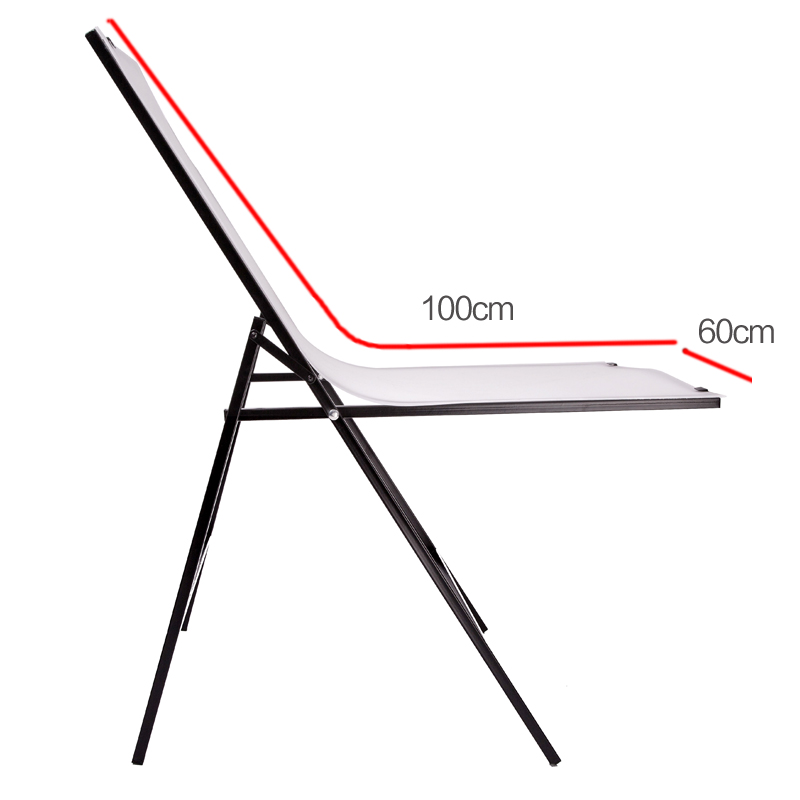 60 * 100cm Folding Portable Specialty Photography Photo Studio Shooting Table for Still Life Product Shooting CD50