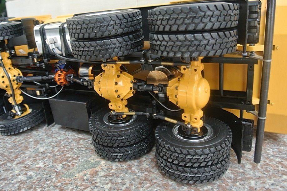 New Large Scale Rc Rtr Radio Control Vehicles Metal 8x8 Tractor Truck 8wd Trailer 1 12 In Cars From Toys Hobbies On Aliexpress