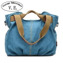 Bordado de la vendimia de Las Mujeres Bolsos de Diseño de Marca Famosa bolsa de Hombro Bolsa de Lona de Las Señoras Bolsa de Asas de las mujeres bolsos de hombro