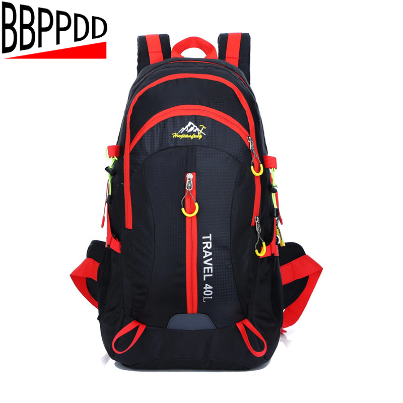 BBPPDD Backpack 2018 womens 40L Large Waterproof Travel Bags Rucksack Men Nylon Out Bicycle Backpacks Bag women Backpack large 40l professional travel backpack men women backpack high quality nylon waterproof rucksack