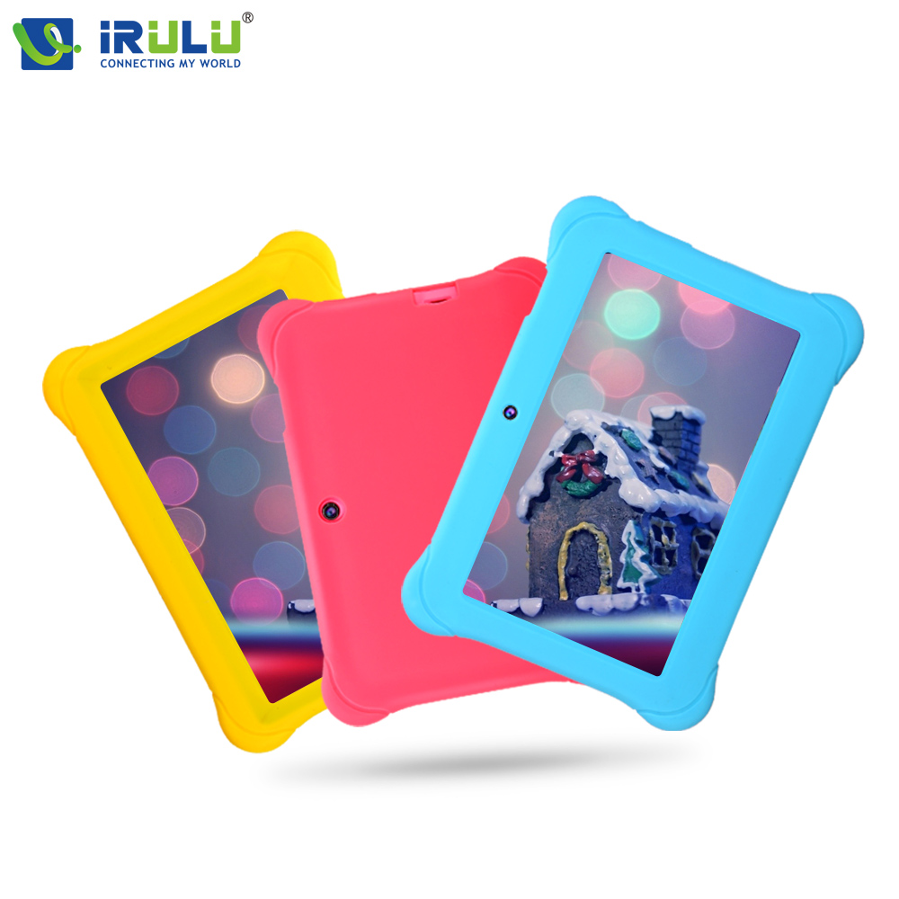 iRULU 7 Baby Tablet PC 1024 600 HD Android 4 4 Quad Core 1G RAM 8G