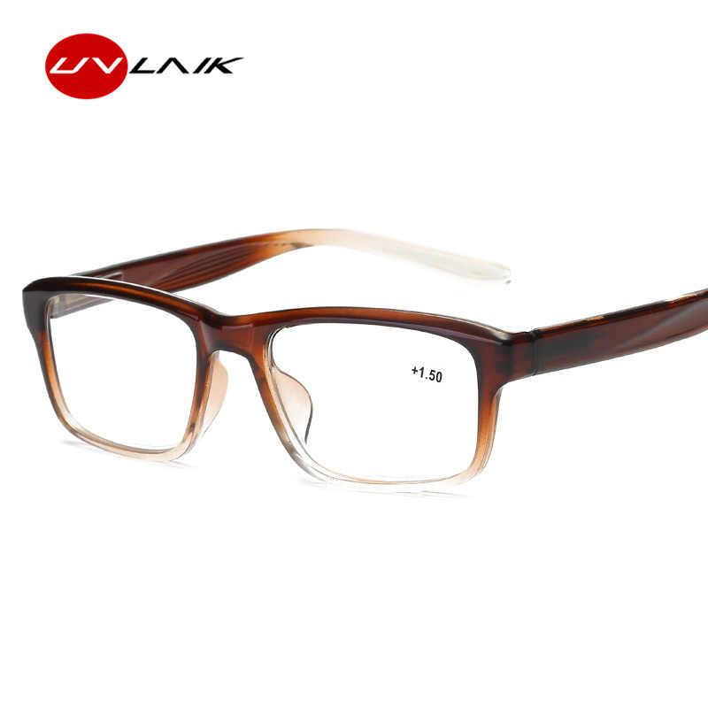 edf3071f1da0 Detail Feedback Questions about UVLAIK Fashion Reading Glasses Men Classic  Ultra light Reading Eyeglasses Women Presbyopia 1.0 1.5 2.0 2.5 3.0 3.5 4.0  ...