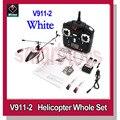 New v911 Upgrade Wltoys V911-Pro V911-V2 4Channel 2.4GHz RC Helicopter White