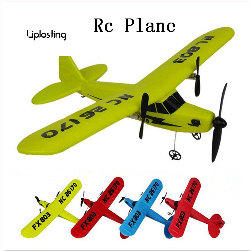 New RC Plane RTF 2CH HL803 EPP Material RC Airplane Model RC Glider Drones Outdoor Toys For Kid Boy Birthday Gift Free Shipping hl 803 material epp fx 803 rc plane rc glider airplane model airplane radio uav hobby trasporto libero free shipping