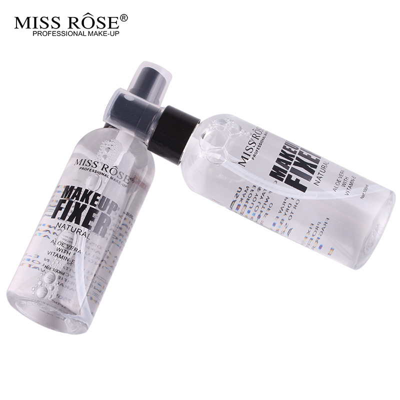Miss Rose Natural Beauty Make Up Setting Spray 100ml bottle Bottle Matte Setting Finish Long Lasting Makeup Finishing Spray in Face Foundation from Beauty Health