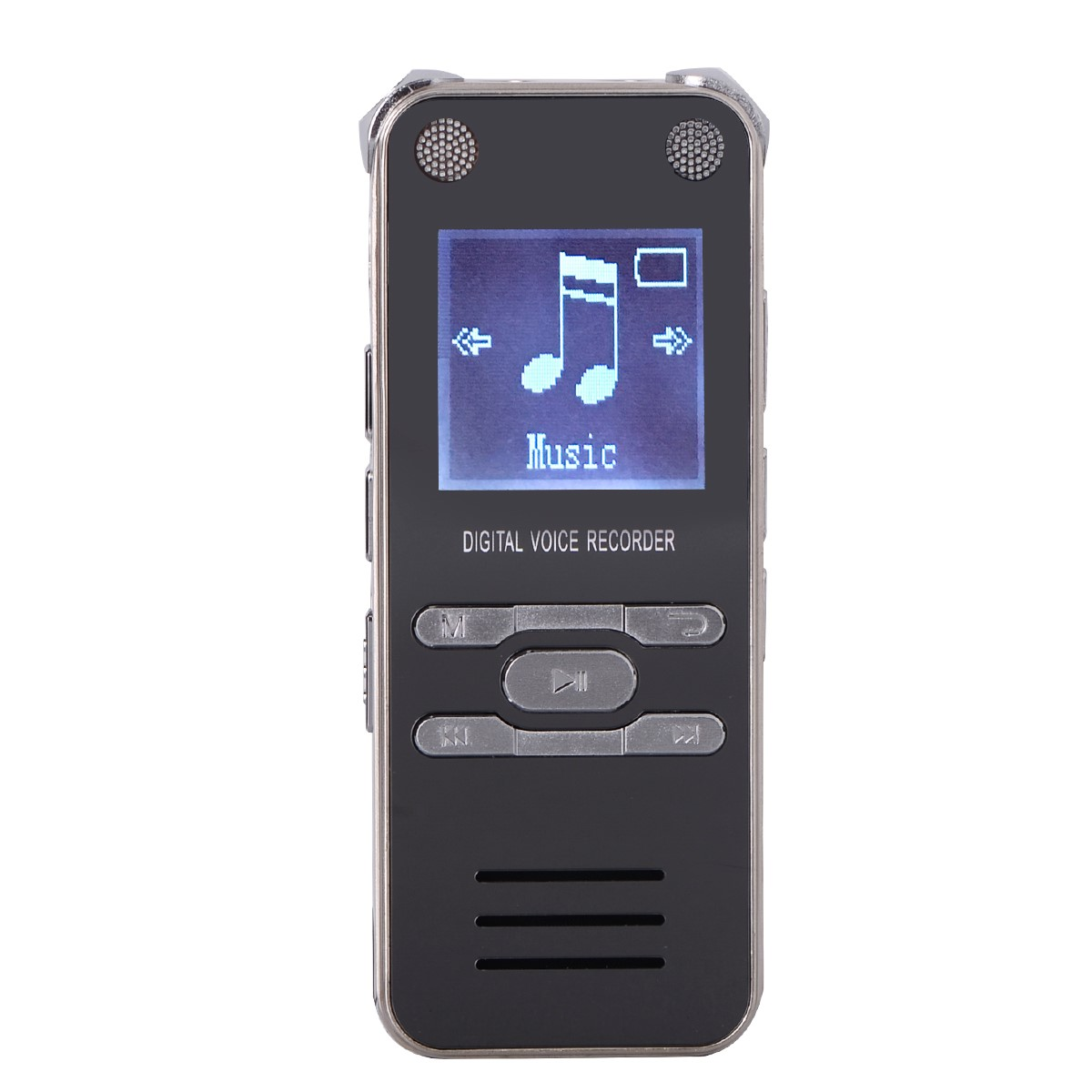 LEORY Portable Mini Digital Voice Recorder Sound Audio Dictaphone 8GB / 16GB / 32GB With Earphone Speaker USB MP3 Player rechargeable 8gb 650hr digital usb recording pen mini audio sound voice recorder dictaphone mp3 player with earphone usb cable 2