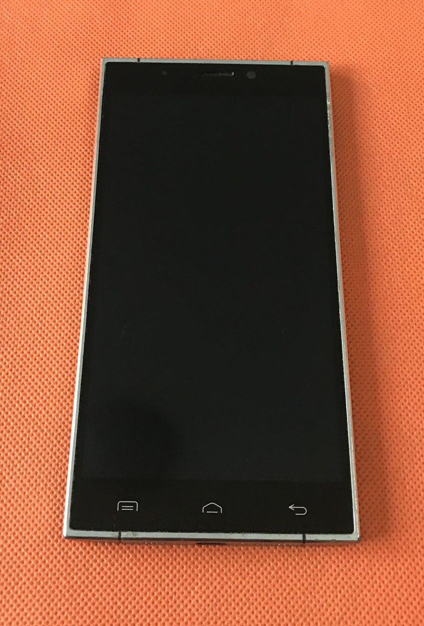 Старые оригинальные ЖК-дисплей Экран дисплея + Сенсорный экран + рамка для Doogee F5 4G LTE 5,5 MTK6753 Octa Core FHD 1920x1080 бесплатная доставка