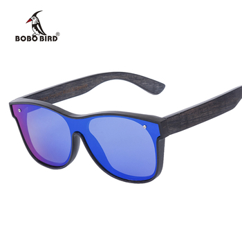 BOBO BIRD Sunglasses Men Brand Luxury Square Polarized Wood Sun Glasses Driving Eyewear UV400 Oculos De Sol Gafas 2