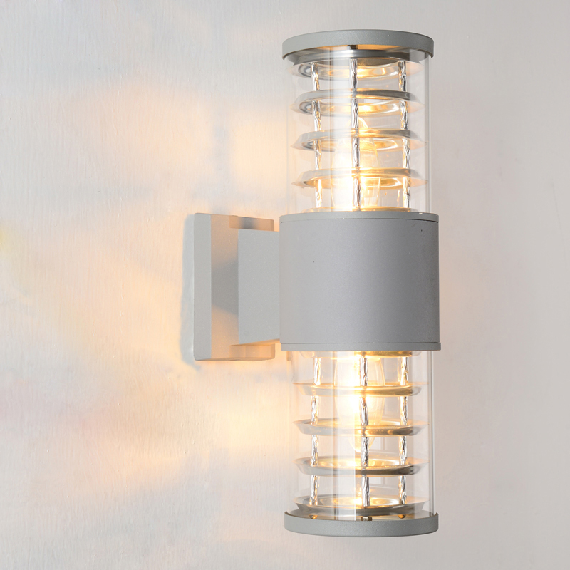 Modern outdoor wall  light Waterproof IP54 Porch Aluminum wall lamp for garden decoration  up down sconce Double lighting 1118 led outdoor wall sconce wall mounted lamp garden porch light bedside lamp balcony sconce aisle light vintage wall sconces