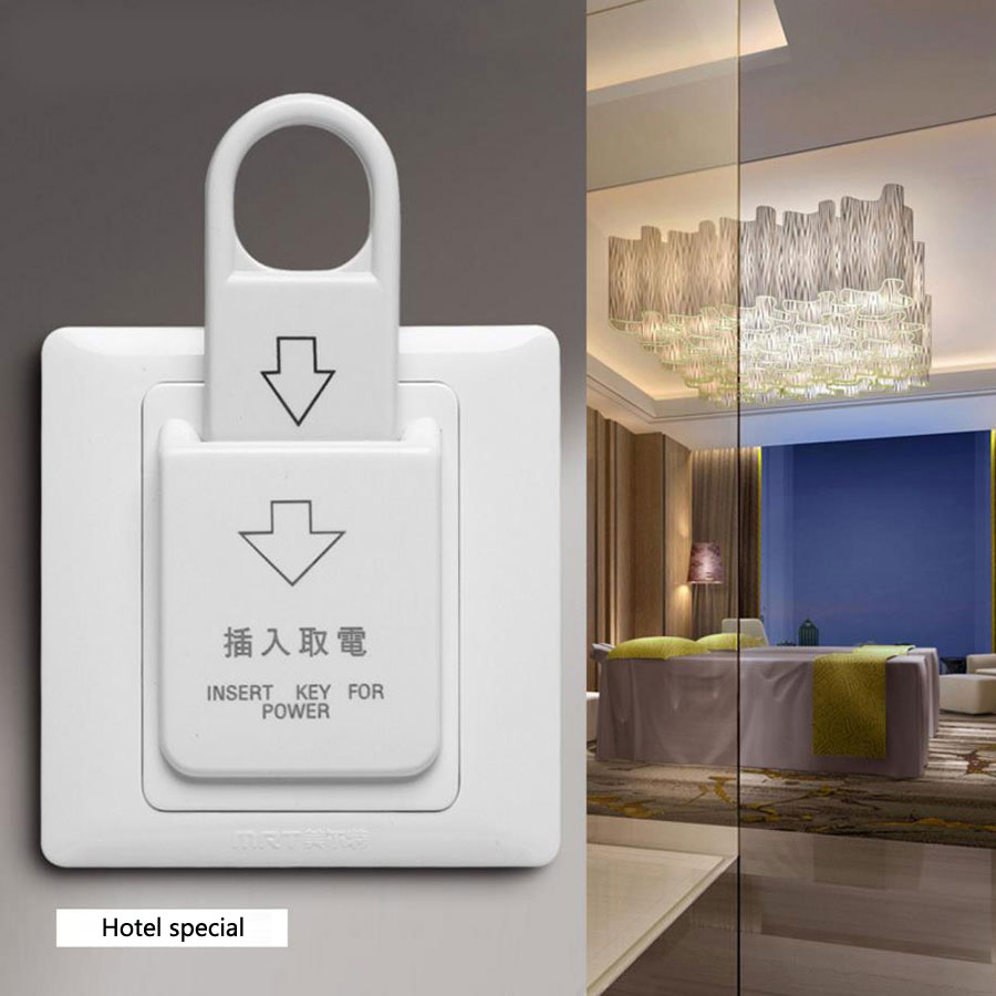 hotel energy saving switch 86 type Magnetic card plug-in switch 30A Three line without delay Plug - in power switch power socket цена