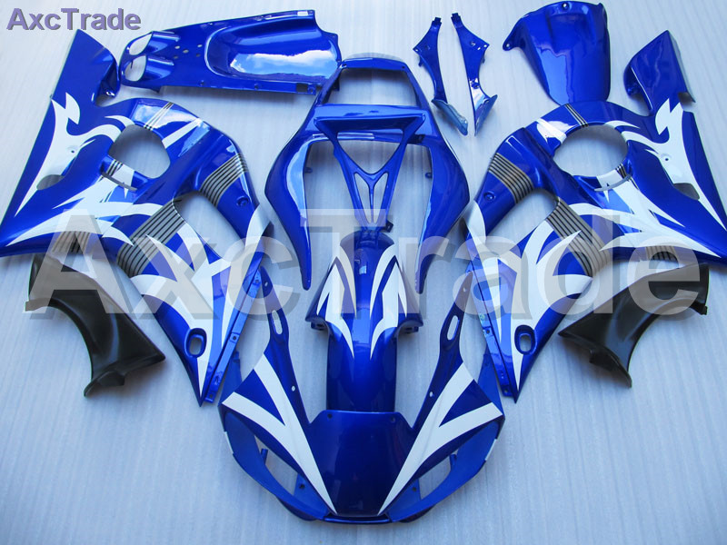 Motorcycle Fairing Kit For Yamaha YZF600 YZF 600 R6 YZF-R6 1998-2002 98 - 02 Fairings ki ...