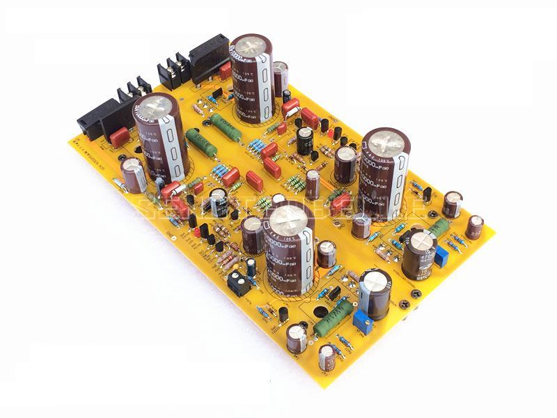 2pcs A30 Class A Power Amplifier Board Stereo HiFi 30W+30W Audio Amplifier Board Reference UK Sugden Circuit richter 12224255111 28