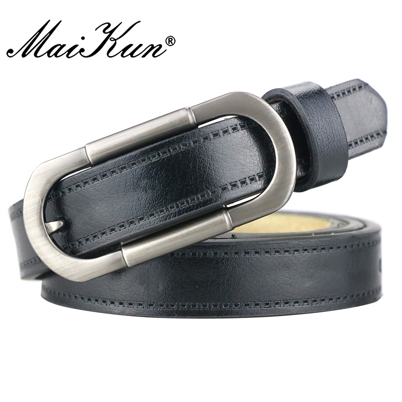 Maikun Women's Belts For Women Belt Luxury Brand Leather Belt Cummerbunds