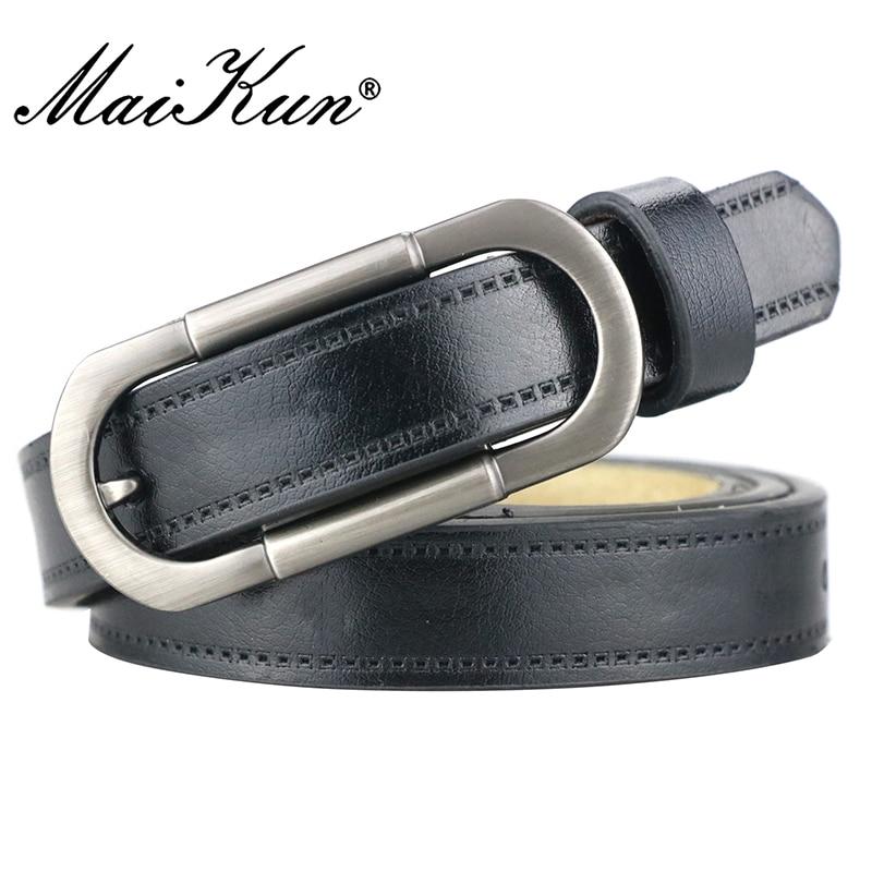 Maikun Women's Belts For Women Belt Luxury Brand Leather Belt Cummerbunds