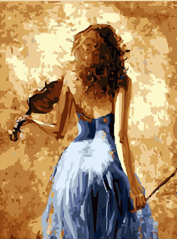 Violin Girl Wall Art