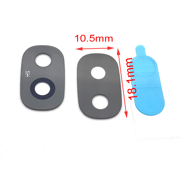 Camera Glass Lens For Samsung Galaxy J2 Pro 2018 Grand Prime Pro Rear Camera Lens Replacement Part With Adhesive Glue