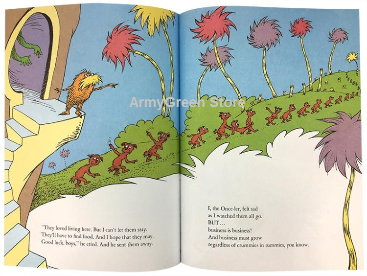 Dr Seuss Series Interesting Story Children's Picture English Books Kids  Festival Gift 20 Books For Select