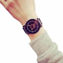 TZ #502 Модные женские Нержавеющаясталь Аналоговые кварцевые наручные часы пару моделей Бесплатная доставка