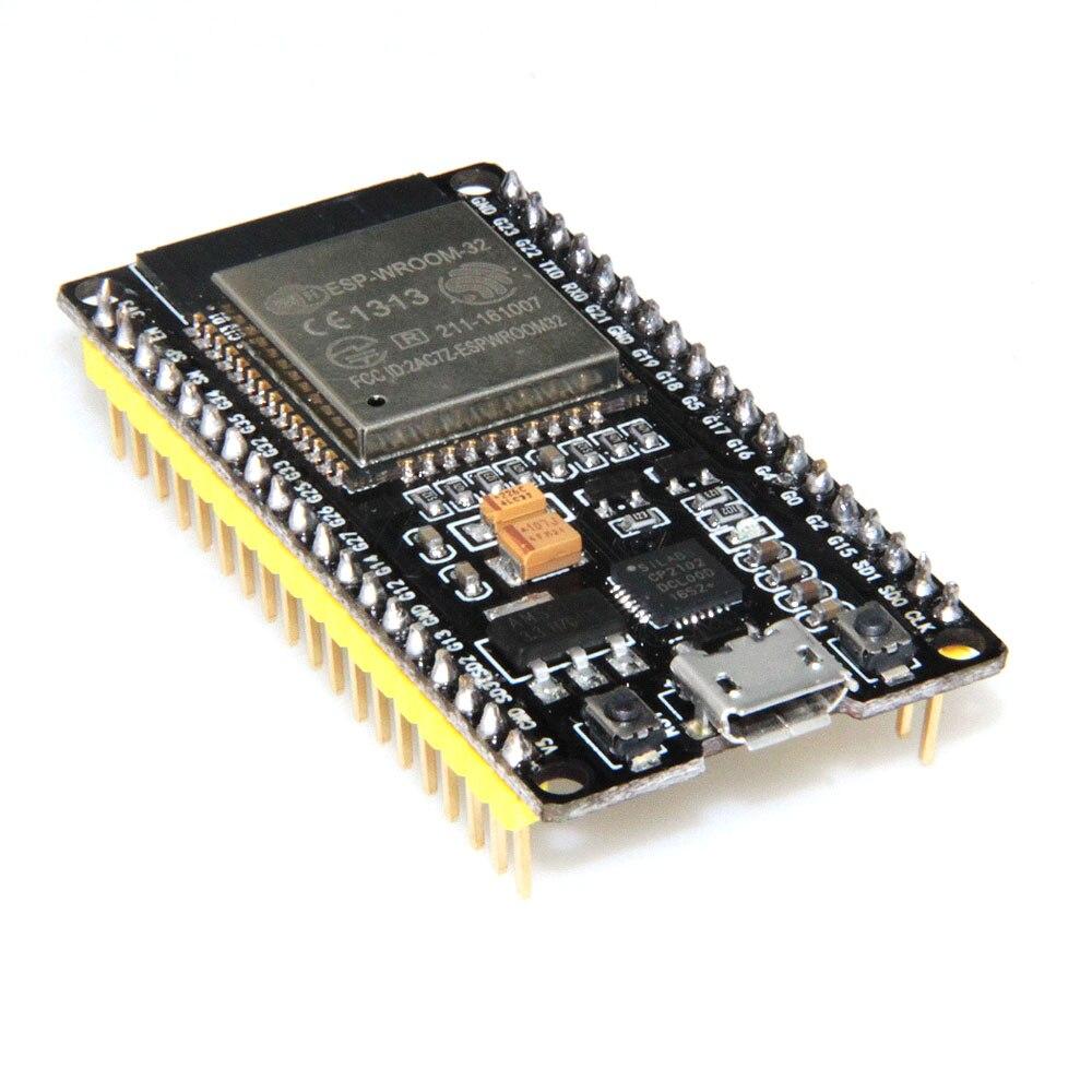 ESP32 rev1 Development Board WiFi+Bluetooth Ultra-Low Power Consumption Dual Core ESP-32 ESP 32 ESP8266 (Yellow pin welding) wallet