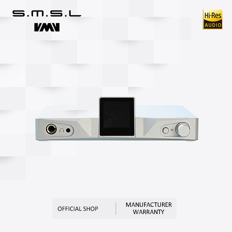 Amplificador de Auscultadores SMSL M9 AK4490x2 32bit/768 kHz DSD512 XMOS DAC Hi-Fi de Áudio Conversor Digital para Analógico RCA Equilibrada saída