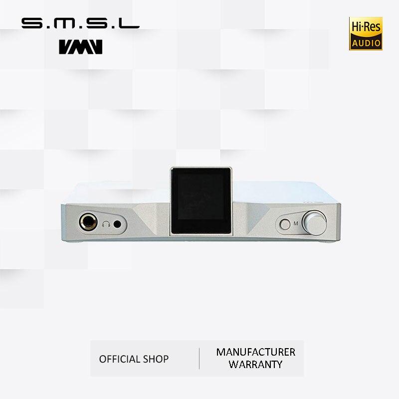 SMSL M9 Amplificatore Per Cuffie AK4490x2 32bit/768 kHz DSD512 XMOS Hi-Fi Audio DAC Digitale al Convertitore Analogico Bilanciato RCA uscita