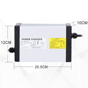 Image 4 - YZPOWER חמה לקנות 87 v 8A 7A 6A 5A עופרת חומצת סוללה מטען עבור 72 v Ebike דואר אופניים סוללה עם 4 קירור מאוורר עם תקע