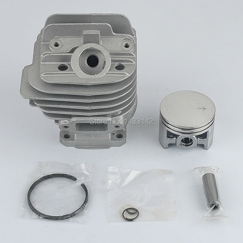 2*pcs New 44mm Cylinder & Piston Rebuild Kit Circlip Fit STIHL 026 MS260 Chainsaw #1121 020 1208