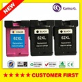 3PCS For HP 62 XL hp62 Ink Cartridge For HP Envy 5640 5660 7640 5540 5544 5545 5546 5548 Officejet 5740 5741 5742 5743 5744 5745