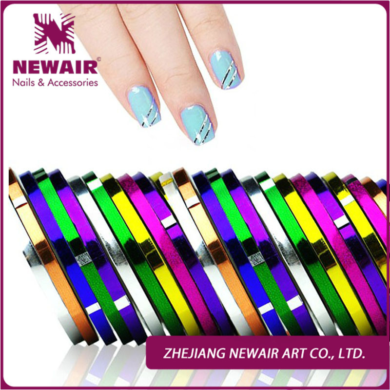 ᗑ】2015 New Brand 6Pcs/lot Mixed Colors Rolls Striping Tape Line ...