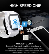 Leifer T8 Bluetooth Smartwatch Support SIM, TFcard, 2.0MP Camera, Bluetooth Connection, Sync Notifier For Android & iOS