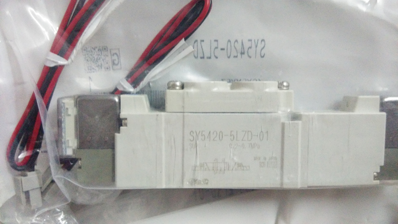 BRAND NEW JAPAN GENUINE VALVE SY5420-5LZD-01 sy5420 5lzd 01 brand new original authentic smc solenoid valve new laser marking
