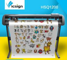 Vicsign 48″ HSQ1200 Cutting Plotters Machine With Servo Motor/Automatic Contour Cutting Self Adhesive Vinyl Cutter+Roland Blade