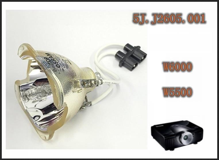 NUOVO 5J. J2605.001 Lampada per BENQ W6000 W5500 Lampada Della Lampadina Del ProiettoreNUOVO 5J. J2605.001 Lampada per BENQ W6000 W5500 Lampada Della Lampadina Del Proiettore