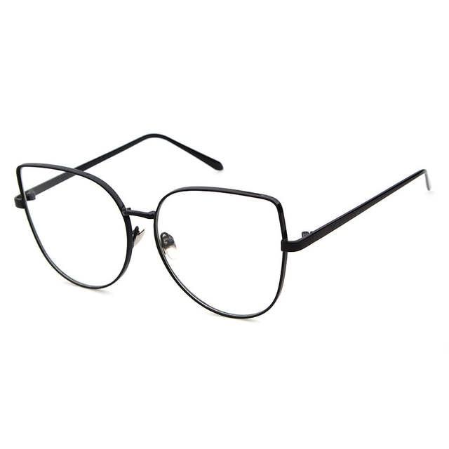 f9d95ca65fb placeholder Long Keeper Optical Glasses Men Cat Eye Eyeglasses Metal Frame  glasses 2018 Male Female Computer Work