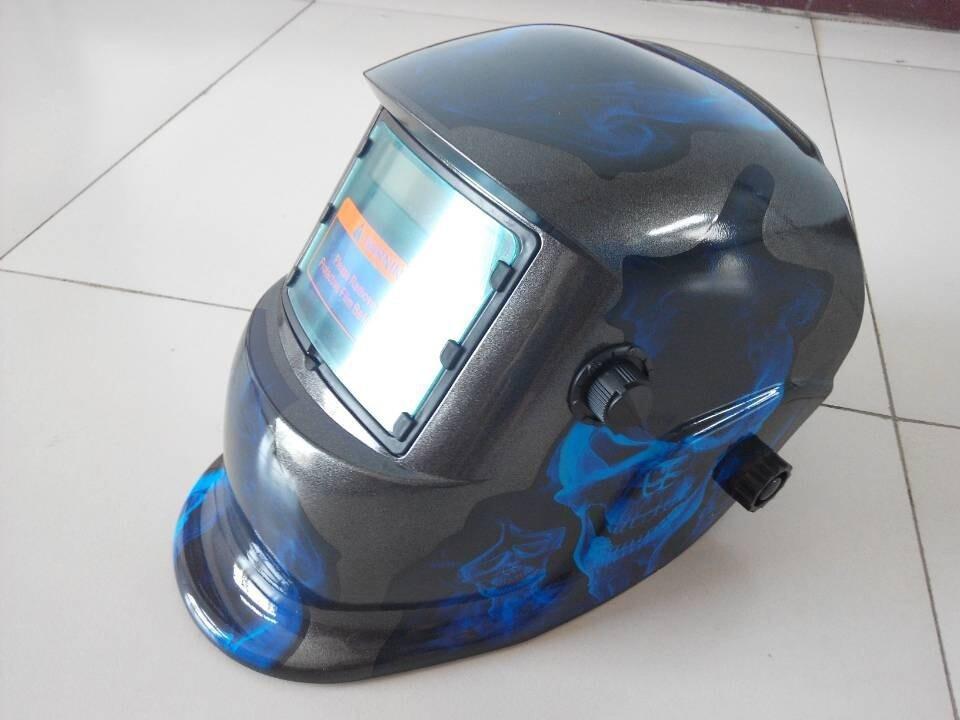 Blue Flame Skull domineering exposed cap/welding lens for welding machine OR plasma cutter