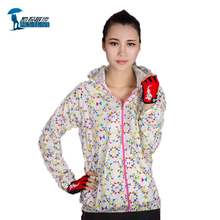 Protective 2016 New Quick Dry Hiking Jacket Women Sport Skin Dust Coat Breathable Waterproof UV Windproof For Outdoor Camping