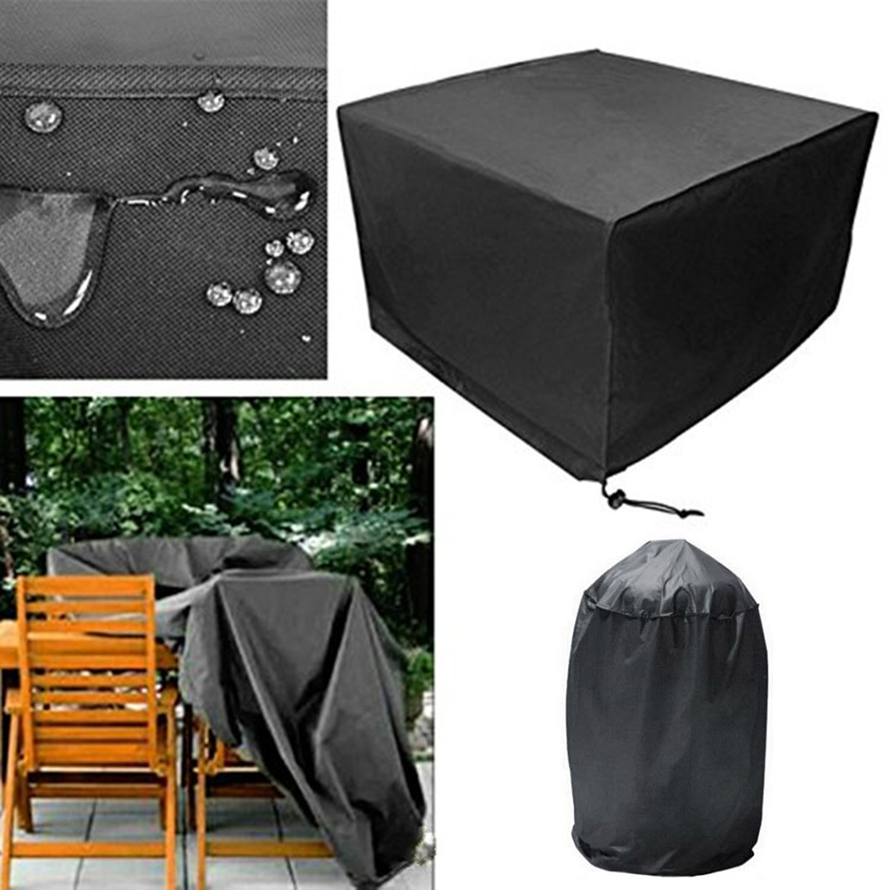 Furniture Dust Cover Fabric: Oxford Cloth BBQ Cover Outdoor Barbecue Cover Waterproof