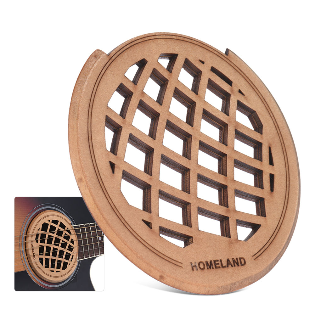 Homeland Folk Guitar Sound Hole Cover Maple Wood Material For 40