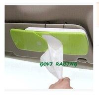 10 5x23 5cm NEW STYLE Car Tissue Box Sun Shade Box Windshield Visor Window Sunshade UV