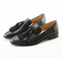 9149e703f5 Mocassin homme zapatillas resbalón en los holgazanes De Cuero Negro hombres  zapatos de lujo akamatsu marca casual Oficina vestid.